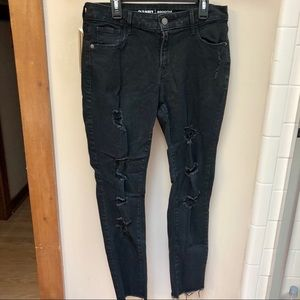 Old Navy Distressed Jeggings